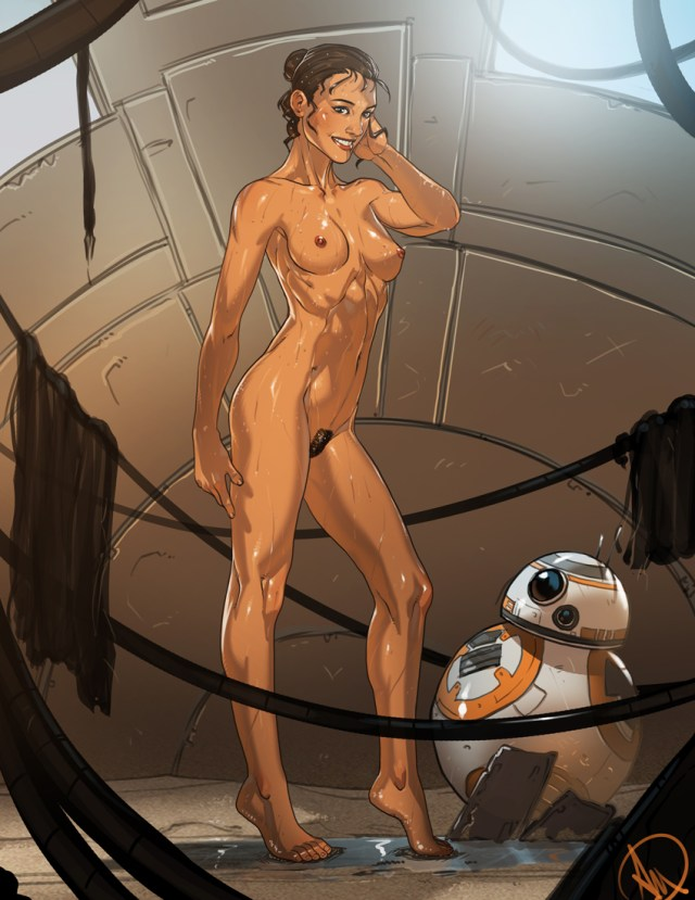 Rey naked