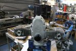 Usine Ural Irbit moteur EFI en cours de montage URAL FRANCE