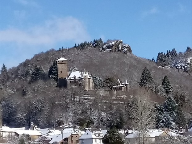 Le château de Polminhac