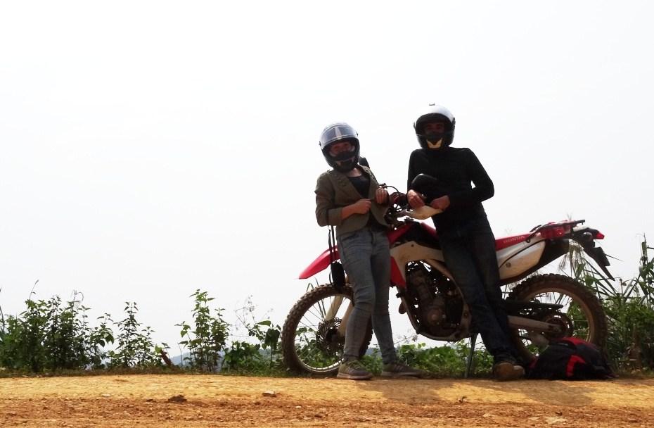 Road trip 2 roues Laos