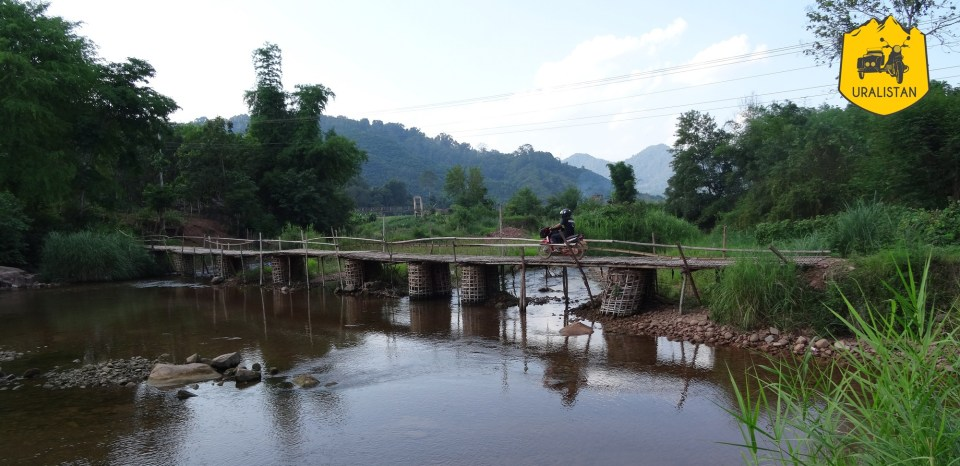 Road-trip moto à Phongsaly au Laos