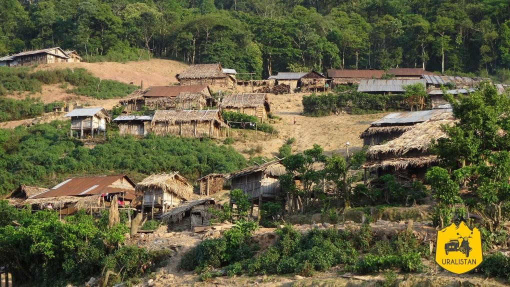 Village Akha de Phongsaly
