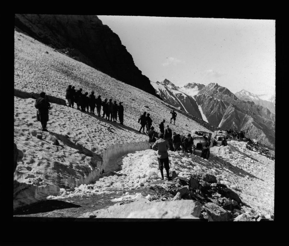 la Croisière jaune, Traversée du massif du Pamir, Citroën communication