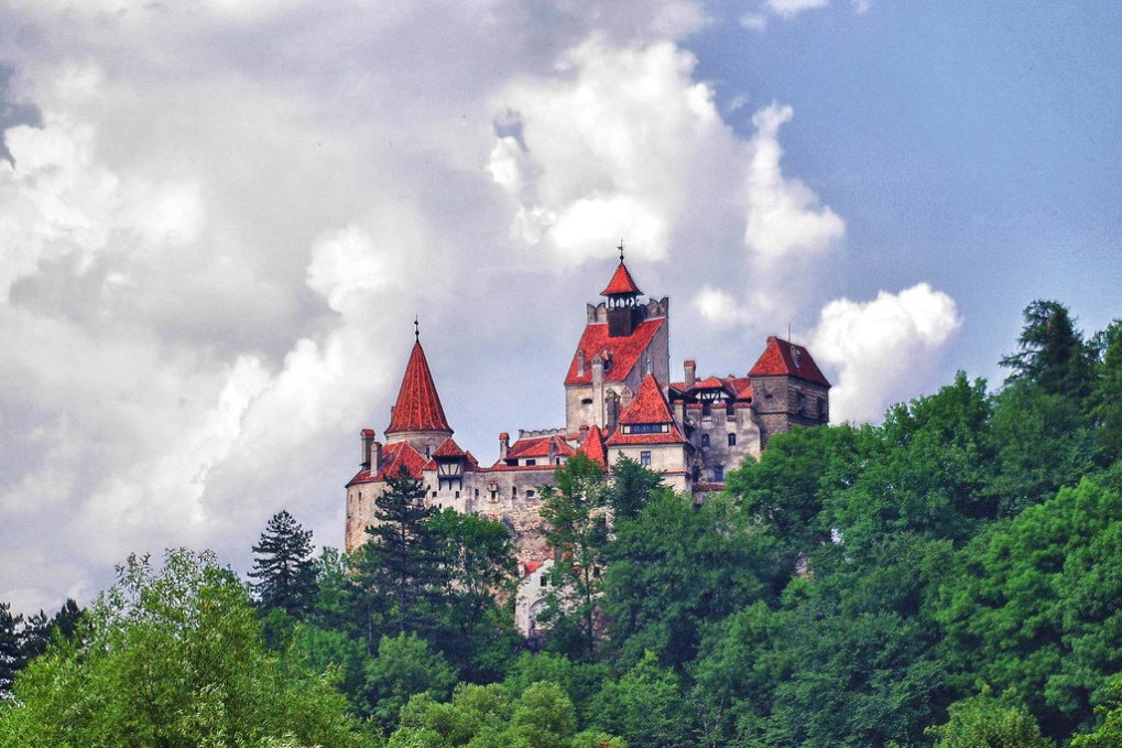 le château de bran, Transylvanie