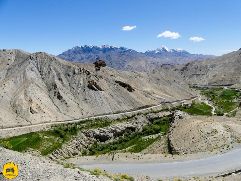Paysages du Ladakh, entre Kargil et Leh