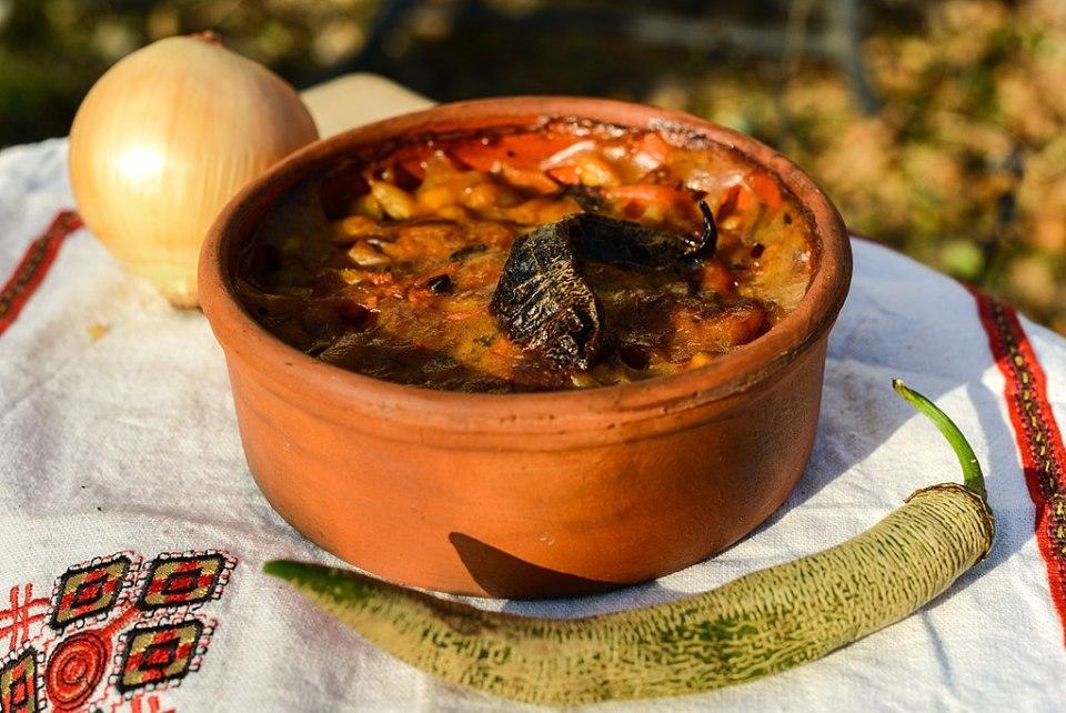 Gastronomie de Macédoine du Nord - Tavče gravče