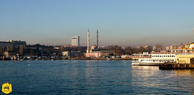 Voyage en Turquie, Bosphore à Istamboul