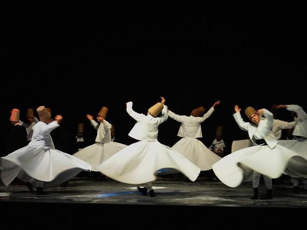 Voyage en Turquie, Derviches tourneurs