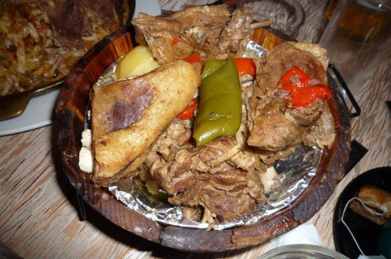 Gastronomie Mongole, plat traditionnel de Mongolie : Khorkhog