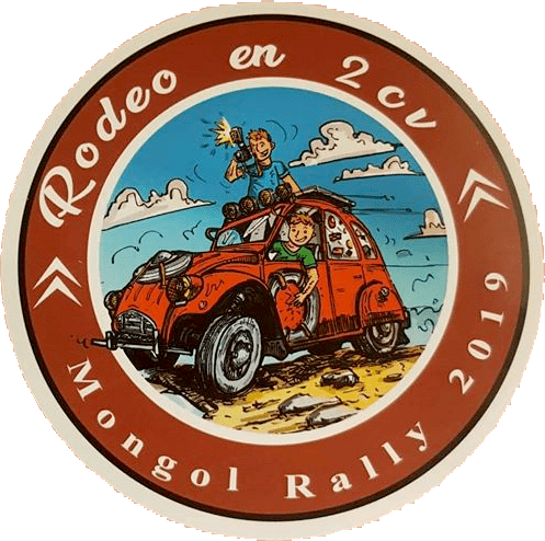 Rodeo en 2CV - Mongol Rally 2019