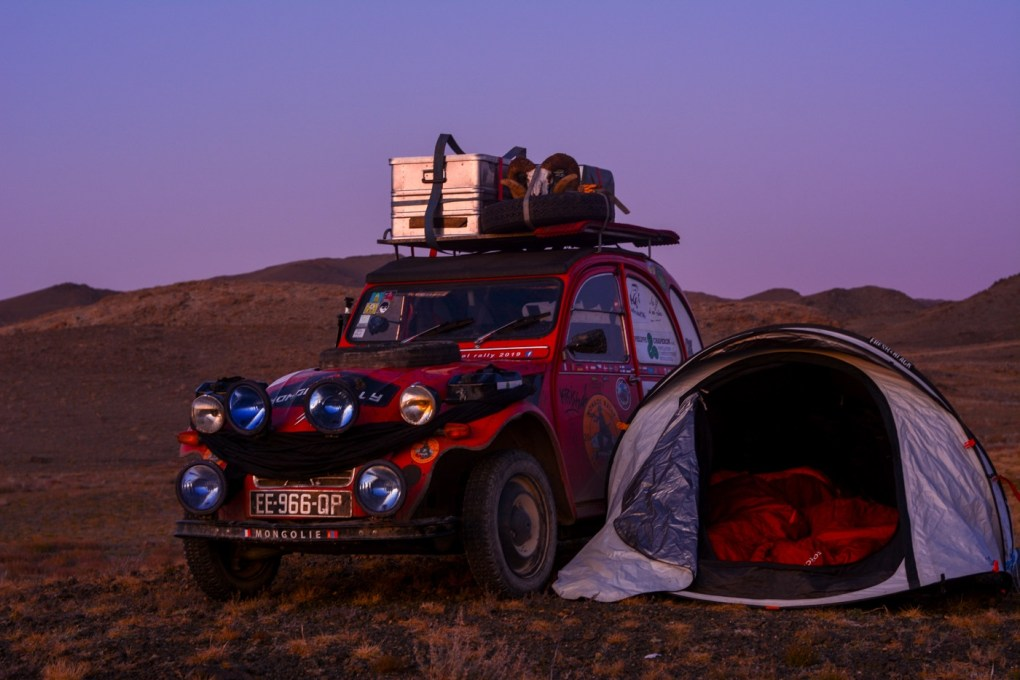 Rodéo en 2CV - roadtrip, mongol Rally