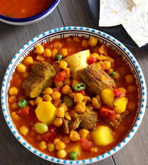 Gastronomie Iranienne, traditionnel d'Iran : abgoosht