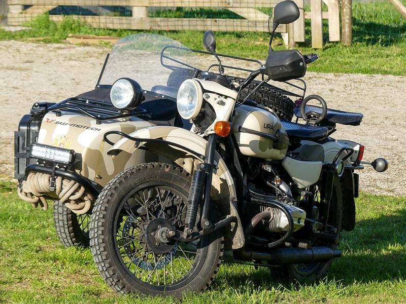 Side-car Ural Ranger 2011