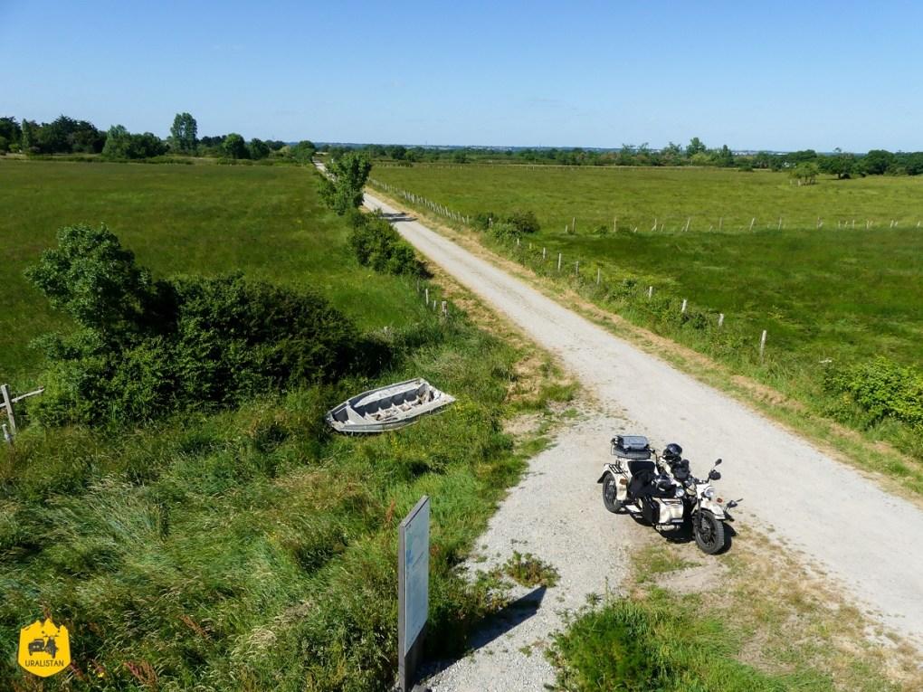 Balade à moto en Loire Atlantique - URALISTAN