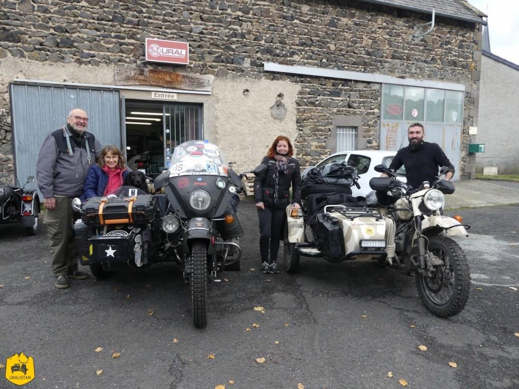 Garage Est Motorcycle - Ruralistan tour - Uralistan