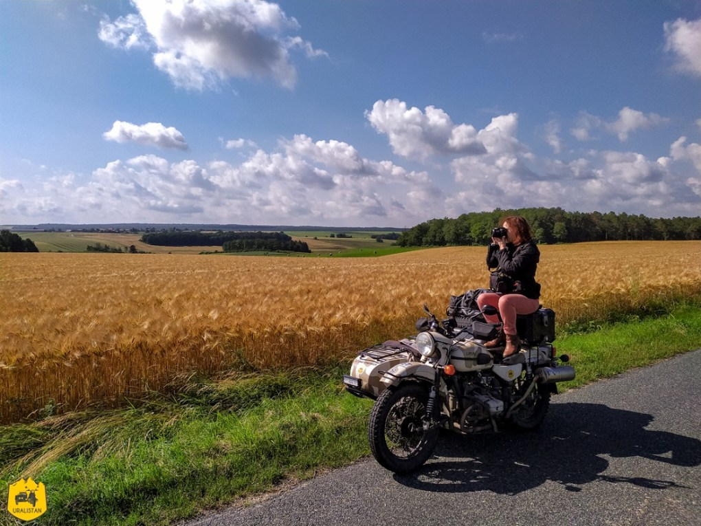 Voyage moto en Haute-Marne - URALISTAN