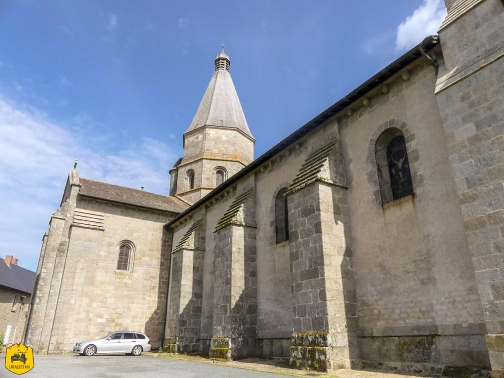 Bénévent l'Abbaye - Voyage moto dans le Berry Val de Creuse - URALISTAN
