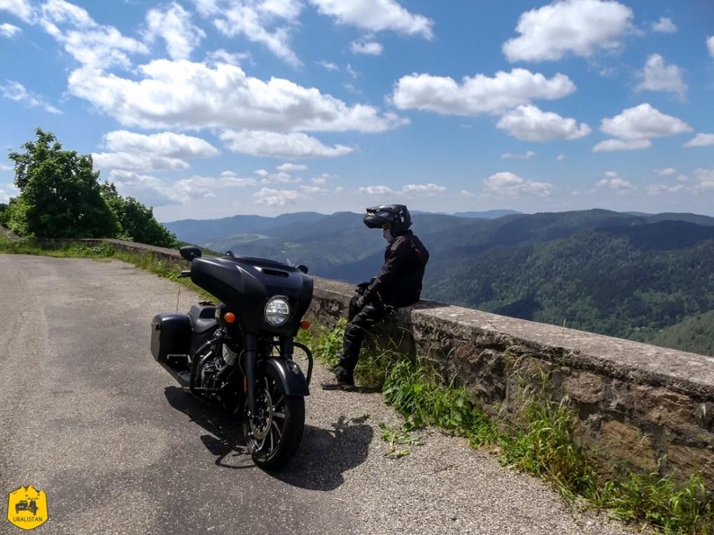 Route des cretes - Voyage moto dans les Vosges sud et en Alsace - URALISTAN