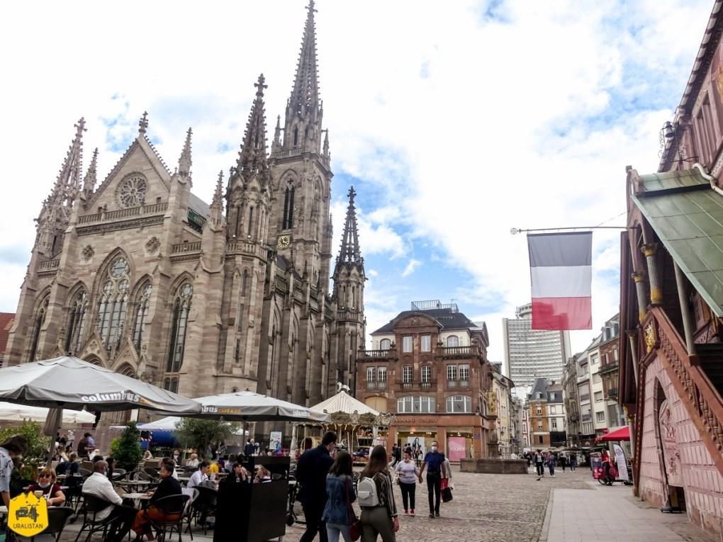 Mulhouse - Voyage moto dans les Vosges sud et en Alsace - URALISTAN