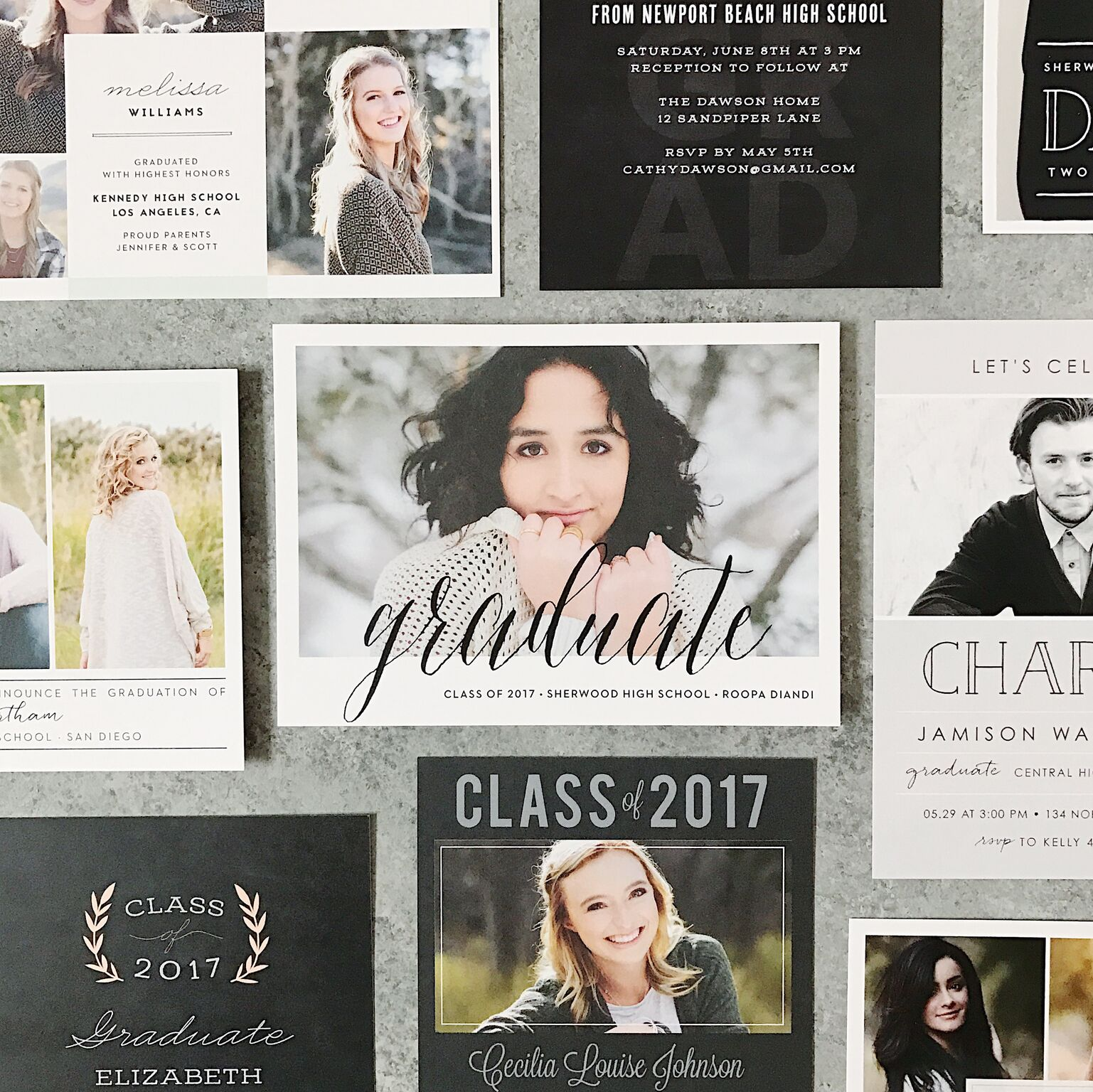 Basic_Invite_Graduation_announcements_and_invitations_5_preview
