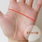 手相のますかけ線の意味 鎖状のものや右手が変形した線の場合は?