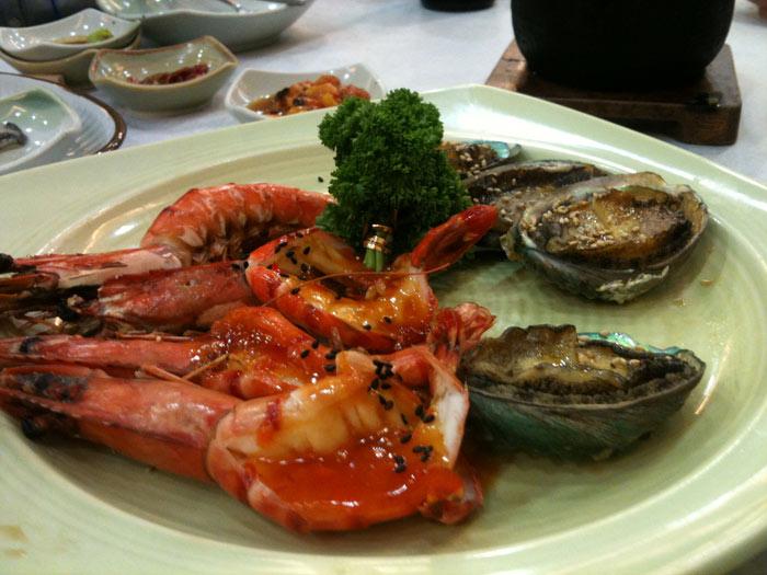 여수 해물요리