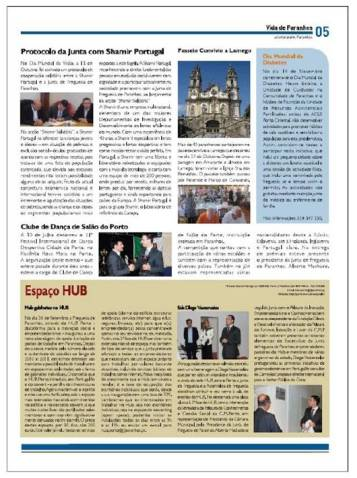 Notícia no Jorna da Junta de Freguesia de Paranhos