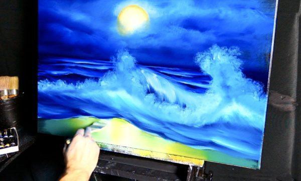 Sea Sponge Painting Techniques