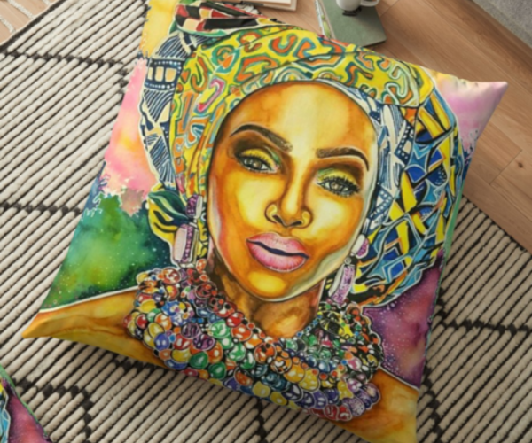 empress-pillow-poetically-illustrated