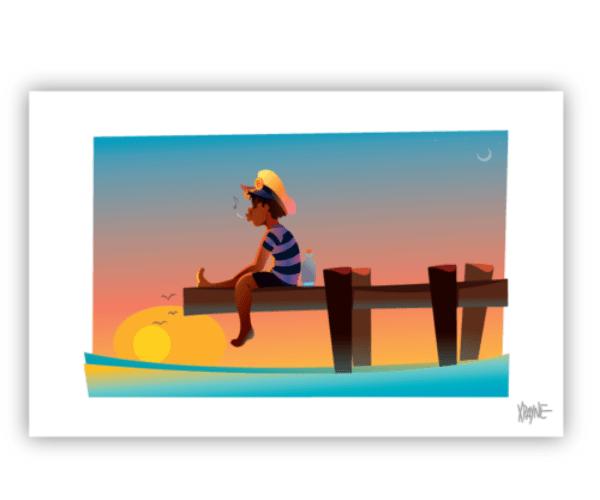 xpayne-sitting-on-the-dock