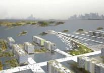 Développement immobilier autour de canaux