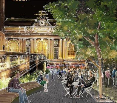 Grand Central, projet de réaménagement. https://urbabillard.wordpress.com/2013/10/18/new-york-soigne-ses-espaces-publics/