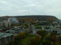 Vue sur le campus McGill et le Mont-Royal Crédit photo: Romain Fayole