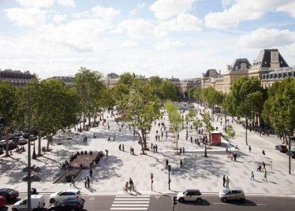 Place de la République, Paris, France - TVK (Pierre Alain Trévelo & Antoine Viger-Kohler)