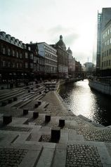 waterfront de aarhus, au Danemark