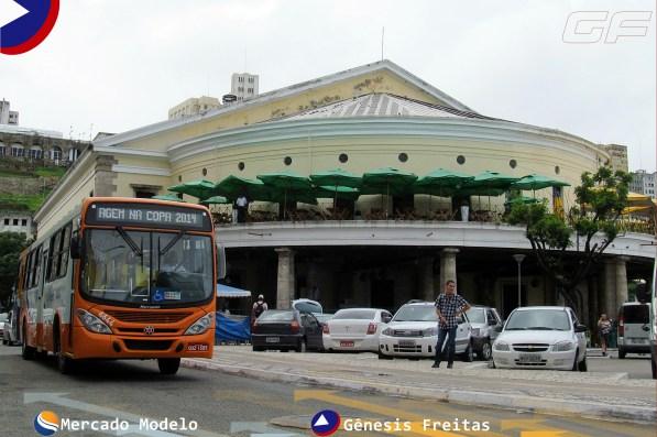 O Mercado Modelo é o local onde o turista encontra as mais diversas peças culturais de Salvador. Tem objetos, quadros, camisas, instrumentos para os mais diversos gostos.