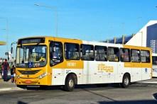 Ônibus da SPE Plataforma Transportes. Adquirido em 2015.