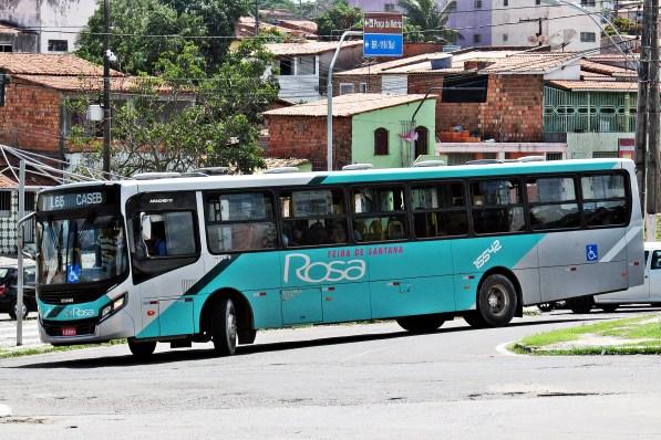 Veículo da Rosa Transportes com a carroceria Caio Apache Vip 4.