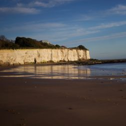 Broadstairs falaises