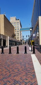 Enjoy a pedestrian walk to Comerica Park