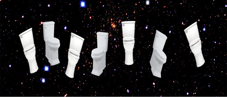 Space Toilets Website Slider