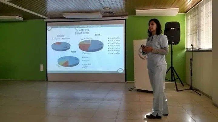 Elba Mansilla Jefa de enfermería del Hospital Penna
