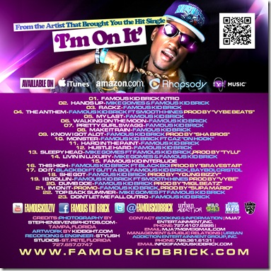 FKB - Youtube Mixtape On CD - Side 2 - Print