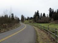 Bucolic Clark County roads.