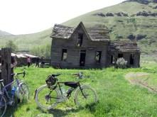 Abandoned ranch.