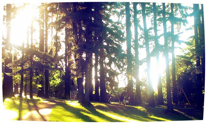 Mount Tabor on a summer's eve.