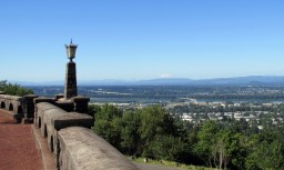 Rocky Butte and St. Helens