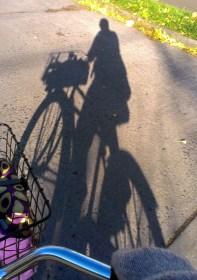Shadowy self-portrait.