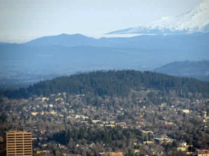Mount Tabor from Pittock.