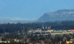 Entrance to Columbia Gorge from Pittock